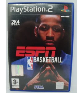 Espn Nba Basketball sur Playstation 2 PS2 avec Notice