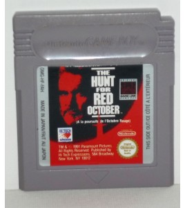 The Hunt For Red October sur Game Boy GB19