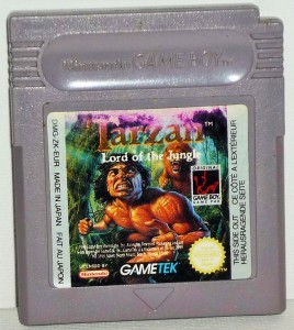 Tarzan Lord of The Jungle sur Game Boy GB17