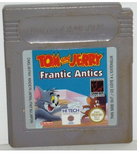 Tom and Jerry Frantic Antics sur Game Boy GB16