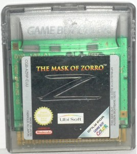The mask of Zorro sur Game Boy Color