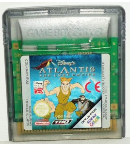 Disneys Atlantis The Lost Empire sur Game Boy Color