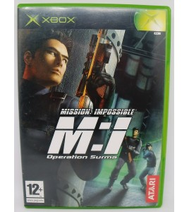 Mission Impossible, M : I - Operation Surma sur Xbox avec Notice MC20