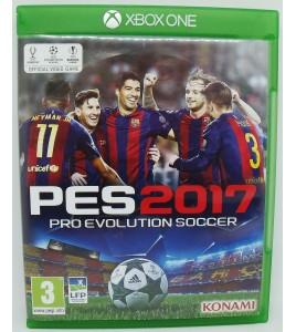 PES 2017 : Pro Evolution Soccer sur Xbox One sans Notice