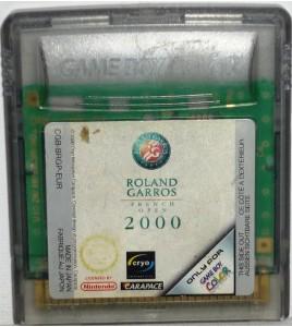 Roland Garros 2000 sur Game Boy Color