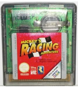 Mickey's Racing Adventure  sur Game Boy Color