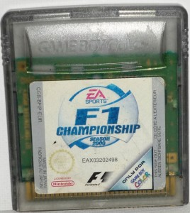 F1 Championship Season 2000 sur Game Boy Color