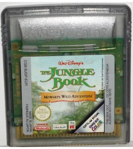 The Jungle Book Le Livre de La Jungle sur Game Boy Color