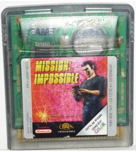 Mission Impossible sur Game Boy Color