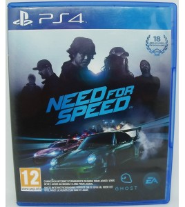 Need for Speed  sur Playstation 4 PS4 sans Notice