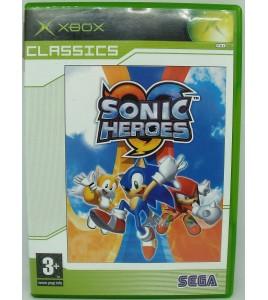 Sonic heroes classics sur Xbox avec Notice MC39