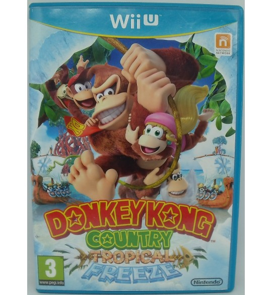 Donkey Kong Country : Tropical Freeze sur Nintendo WII-U sans Notice