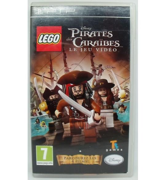Lego Pirates des Caraïbes sur PSP avec Notice