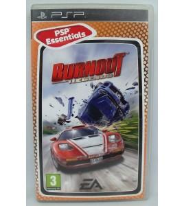 Burnout legends Version Essentials sur PSP avec Notice