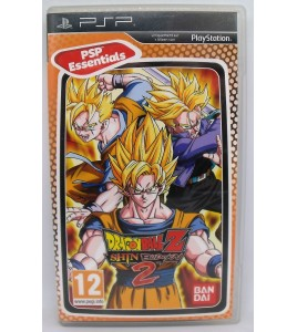 Dragon Ball Z Shin Budokai 2 Version Essentials sur PSP avec Notice