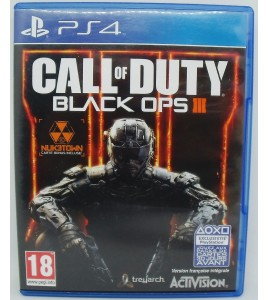 Call of Duty Black Ops III sur Playstation 4 PS4 sans Notice