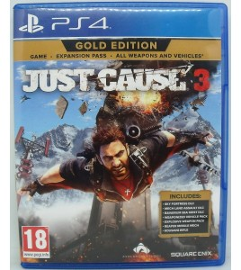 Just Cause 3  sur Playstation 4 PS4 sans Notice