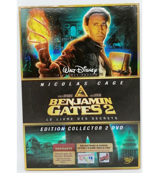 Benjamin Gates 2 : Le Livre des Secrets DVD Disney Édition Collector MD17