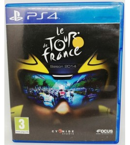 Tour de France 2014 sur Playstation 4 PS4 sans Notice