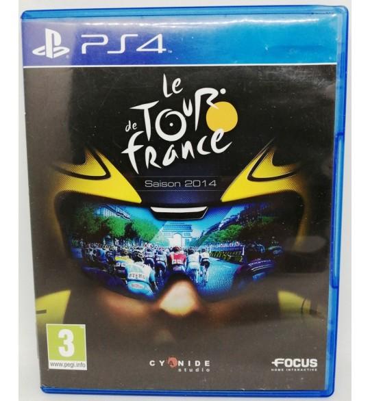 Tour de France 2014 sur Playstation 4 PS4 sans Notice