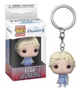 La Reine des neiges 2 porte-clés Pocket POP! Vinyl Elsa 4 cm