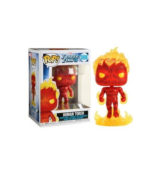 Fantastic Four - Pop Vinyl 559 Human Torch 9 cm