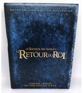 Le Seigneur 3,Le Retour du Roi Version longue 4 DVD MD22