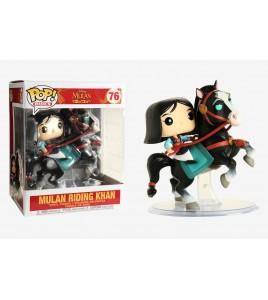 Mulan - Pop Vinyl Disney 76 Mulan on Khan 18 cm