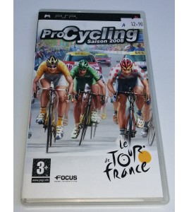 Pro cycling - Tour de France 2008 sur PSP avec Notice