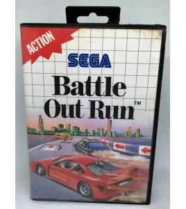 Battle Out Run sur Sega Master System avec Notice