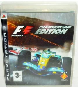 Formula One sur Playstation 3 PS3 avec Notice ME02