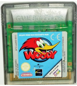 Woody Woodpecker sur Game Boy Color