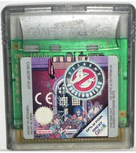 Extrême ghostbusters sur Game Boy Color