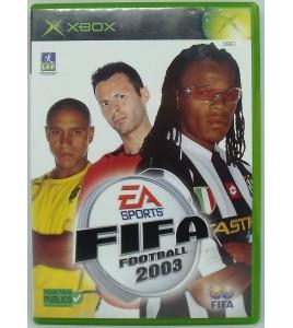 Fifa Football 2003 sur Xbox avec Notice