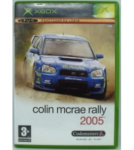 Colin McRAe Rally 5 sur Xbox avec Notice