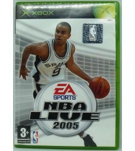 NBA Live 2005 sur Xbox avec Notice