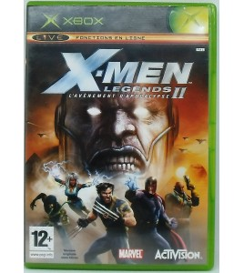 X Men Legend 2 - Rise of Apocalypse sur Xbox avec Notice