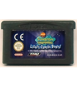 Bob l'éponge : Silence on tourne sur Gameboy Advance GBA 96