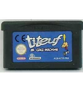 Titeuf : Ze Gag Machine sur Gameboy Advance GBA 105
