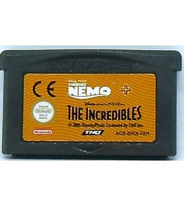 Finding Nemo + the Incredibles sur Gameboy Advance GBA 122