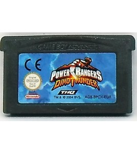 Power Rangers Dino Thunder sur Gameboy Advance GBA 125