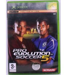 PES 2005 : Pro Evolution Soccer 5 sur Xbox avec Notice Games And Toys