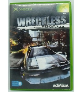 Wreckless : Mission Yakusas sur Xbox avec Notice Games And Toys