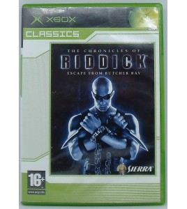 Riddick - Classics sur Xbox avec Notice Games And Toys