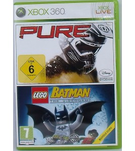 Pure + Lego Batman sur Xbox 360 avec Notice MC47AG Games And Toys