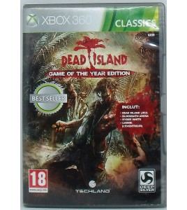 Dead Island Classics sur Xbox 360 avec Notice MC55 Games And Toys