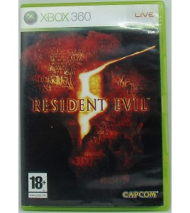RESIDENT EVIL 5 sur Xbox 360 avec Notice MC59 Games And Toys