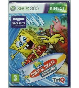 Bob l'éponge: surf & skate (jeu Kinect) sur Xbox 360 avec Notice MC77 Games And Toys
