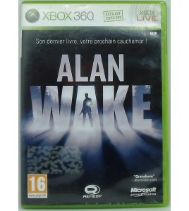 Alan Wake avec Notice MD24 Games And Toys