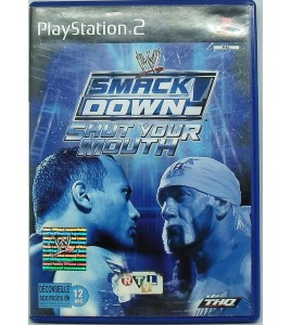 Smack Down Shut Your Mouth sur PS2 avec Notice Games And Toys